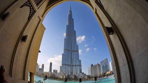 Burj Khalifa: Ein muss bei einer Dubai-Reise