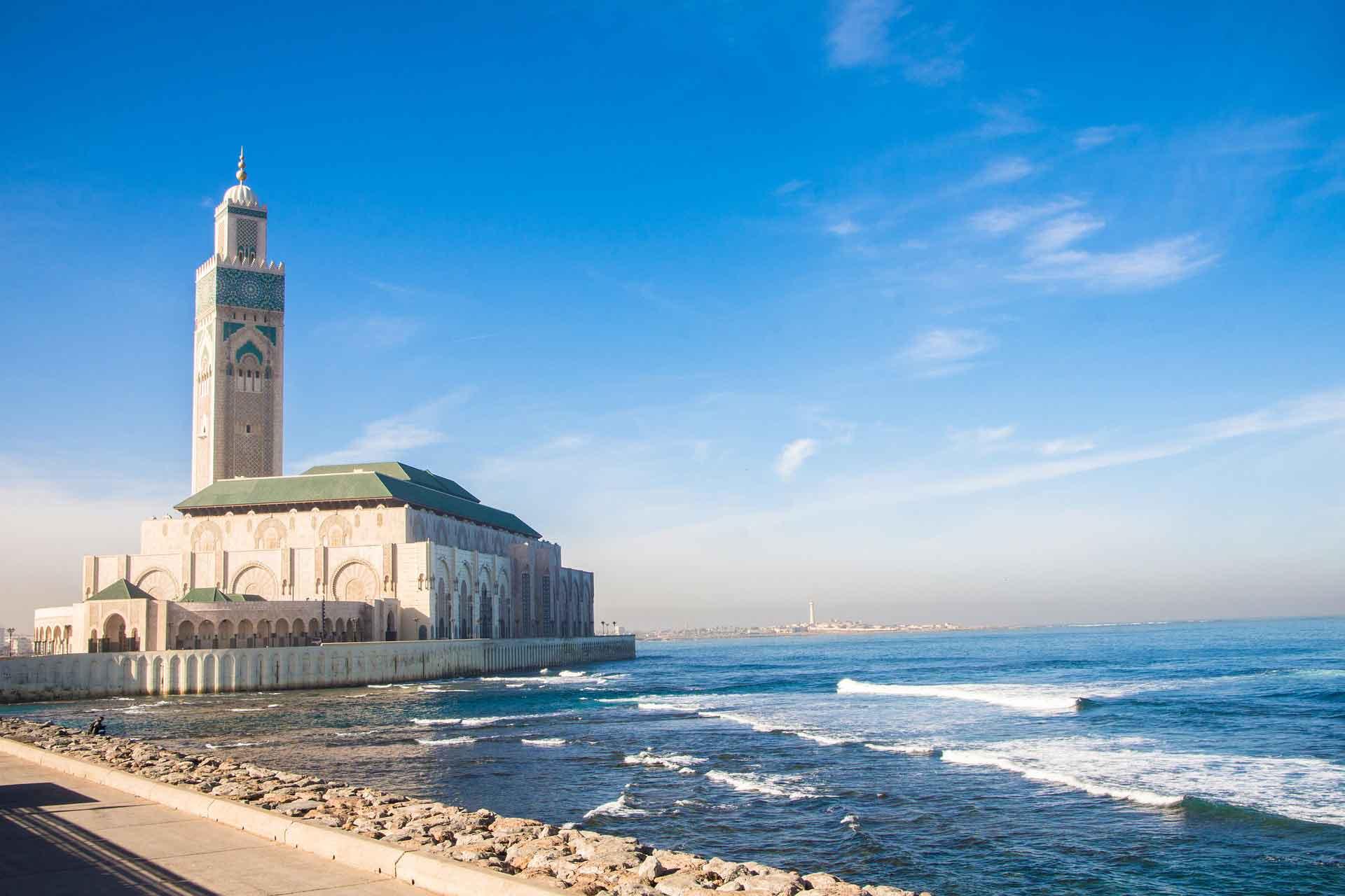 Urlaub in Marokko: Hier das Meer bei Casablanca
