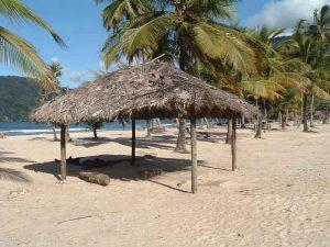 Karibik-Strand aufg Trinidad
