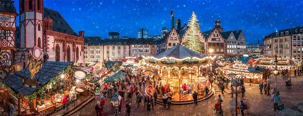 Weihnachtsmarkt am Frankfurter Römer