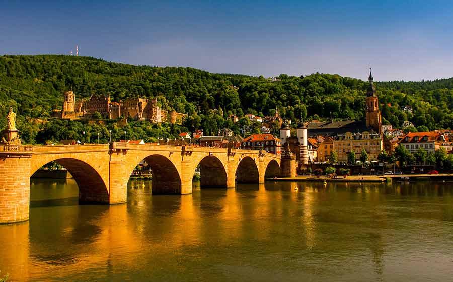 Urlaub in Heidelberg ist bei Ausländern sehr beliebt