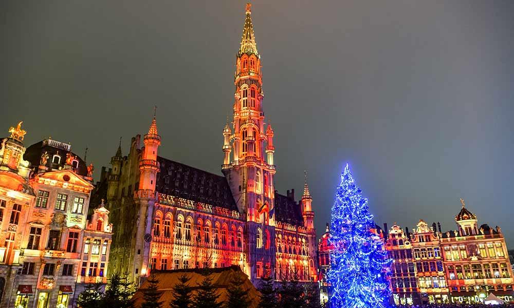Brüssel hat einen der schönsten weihnachtsmärkte 2019 in Europa
