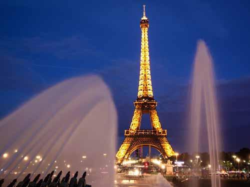 Ein Muss bei einem Paris-trip: der Eiffelturm