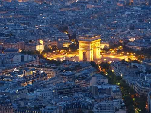 Sehenswürdigkeit in Paris: der Triumphbogen