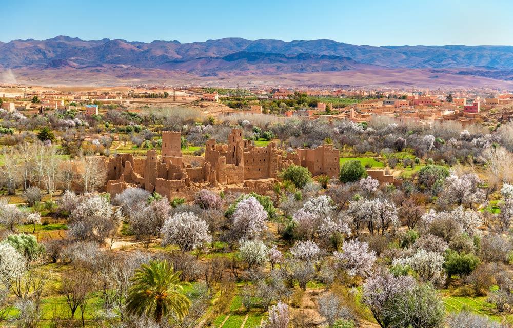 Marokko im Frühling: ideal für einen Sightseeing-Urlaub