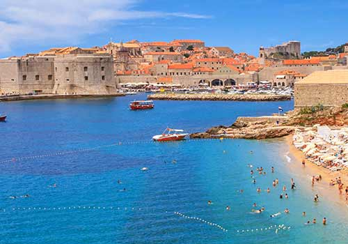 Weltkulturerbe in Kroatien: die Hafenstadt Dubrovnik