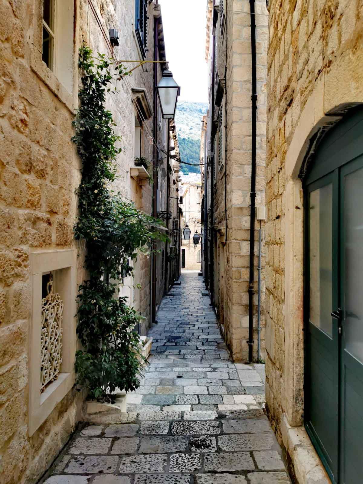 Mittelalterliche Gassen in Dubrovnik