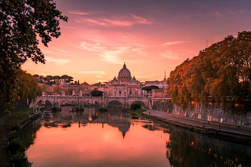 Rom im Herbst